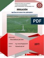 Informe de Irrigacion