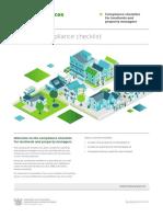 Landlord Compliance Checklist