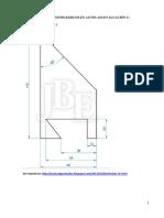 01. Ejercicios propuestos básicos en AUTOCAD