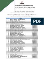 JEFES ODPE ECE2020 Resultados Prueba Conocimientos 19oct