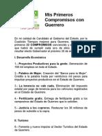 Compromisos Manuel Añorve Baños