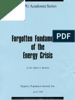 Forgotten Fundamentals Energy Crisis April 1998 Web