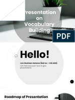 Vocqabulary Building