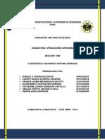 Informe Segundo Parcial Operaciones