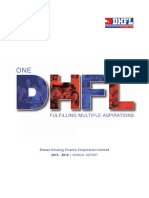 Dhfl Annual Report Fy 2015 16