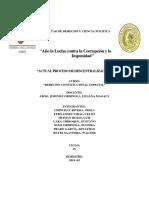 Proceso de Descentralizaciona Ctual