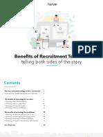 Harver Benefits of Recruitment Technology