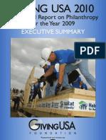 GivingUSA 2010 Exec Summary Print