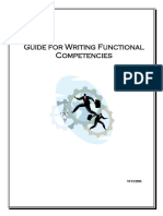 Guide for Writing Functional Competencies (Annotated)