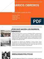Barrios Obreros
