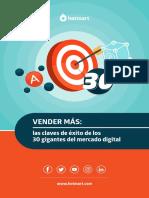 Vender Más Las Claves de Éxito de Los 30 Gigantes Del Mercado Digital