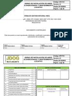 EP-P-01. Obras Instalación de Aires Acondicionado y Manto Locativo