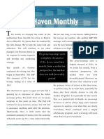 Market Haven Monthly Newsletter - November 2010