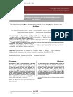 Los Derechos Fundamentales de Las Minori