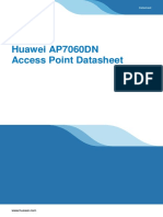 Huawei AP7060DN Access Point Datasheet