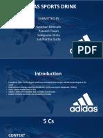 Adidas Sports Drink