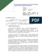 MODELO DE SOLICITUD DE MEDIDA CAUTELAR DE ANOTACIÓN DE DEMANDA DE NULIDAD DE COSA JUZGADA FRAUDULENTA.doc