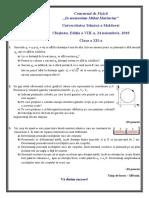 Cl.12 Subiecte Ro 2018