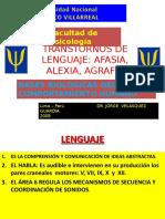 Trastornos de Lenguaje - Psicofisiologia