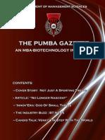 The PUMBA Gazette October '10