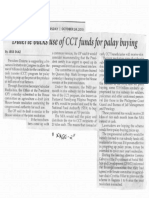 Philippine Star, Oct. 24, 2019, Duterte backs use of CCT funds for palay buying.pdf