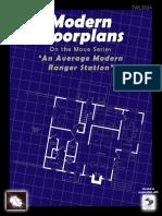 Modern floor plan