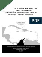 Ordenamiento Territorial Costero caribe Colombiano