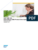 SAP SMS 365 - International SMS Product Description - V4.2