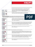 Hilti Chemical Anchoring Methodology