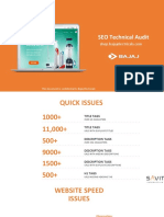 Website Audit - Fromat For Seo