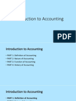 Introduction to Accounting - Part 1 Definition of Accounting v2.1 PDF