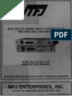 MFJ 1278 Manual