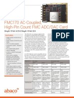 Fmc170 Ac-coupled High-pin Count Fmc Adc-dac Card a-ds-5102 0
