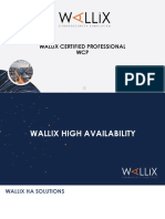 Wcp v7 008 Wallix High Availability(1)