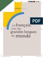 Le Français Une Des Grandes Langues Du Monde