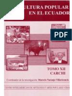 La cultura en Ecuador (Tomo XII Carchi)