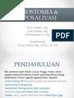 Xerostomia Dan Hiposalivasi PPT Fixed