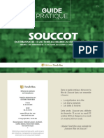 Guide Souccot Torah Box 5780