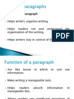 Discussion 3-Effective Paragraphs