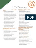 Sophos Sf Os vs Utm Feature List