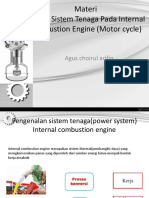 Materi Microteaching Internal Combustion Engine