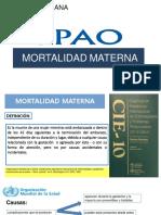 Expo Mortalidad Materna Terminado