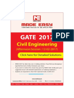 Gate 2017 Civil Engineering Solution Set 02 Made Easy