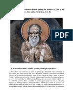 Sfantul Maxim Marturisitorul - Dispute [Problema Intoarcerii in Biserica]_rom