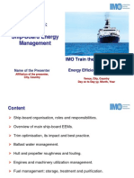 M4 Ship-board Energy Management - IMO TTT Course Presentation Final1