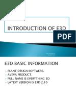 Training FOR e3d