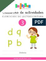 003el Cuaderno Dislexia Edufichas