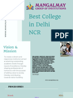 Best College in Delhi NCR