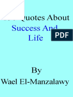 SUCCESS AND LIFE