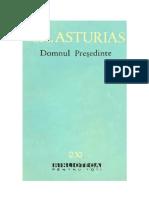Miguel Asturias - Domnul Presedinte
